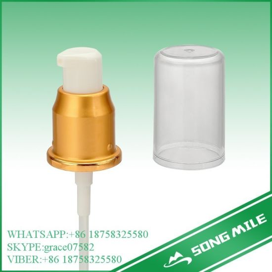24/410 UV Golden Cream Pump for Skin Care Product pictures & photos