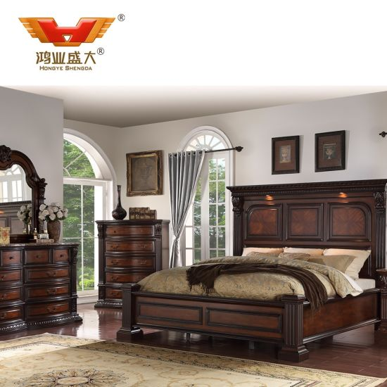 High Quality Wooden Bedroom Sets Custom Made Modern Commercial Hotel Furnitures