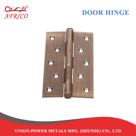 China Steel Hardware 4 Inch Butt Door Hinges For Heavy Entry Door