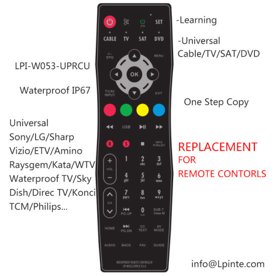 China Remote Control for LCD TV Universal Program - China