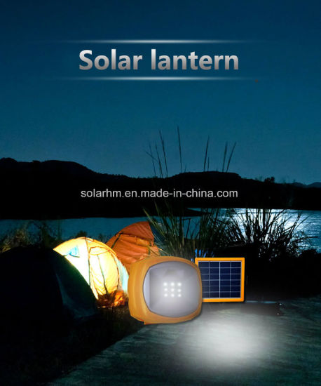 Best Price 3W Portable Solar LED Lantern with Radio pictures & photos