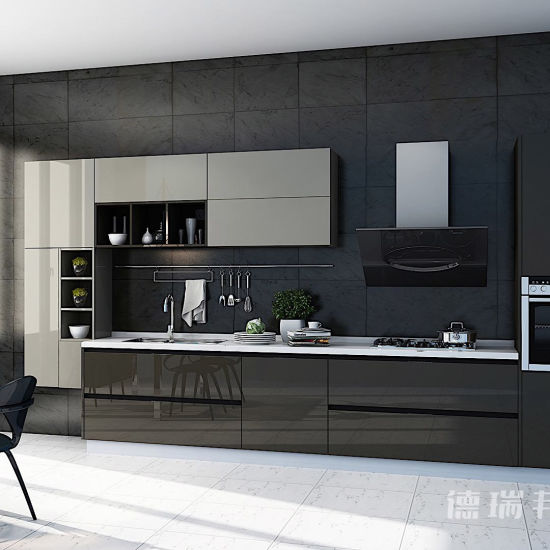 China Laminate Board/Wood Grain Laminate Kitchen Cabinets
