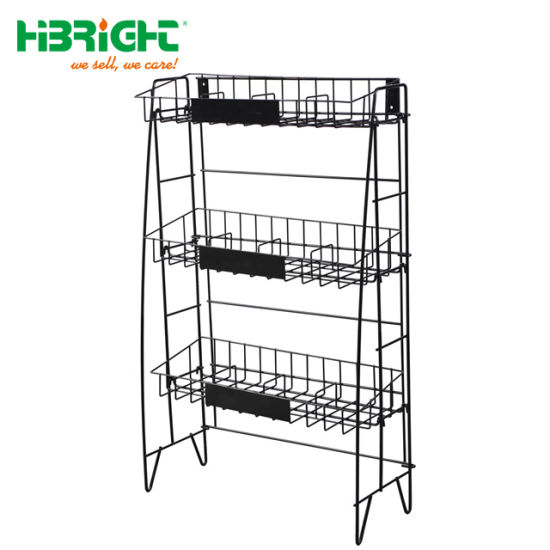 Metal Display Rack with Hooks Tool Rack pictures & photos