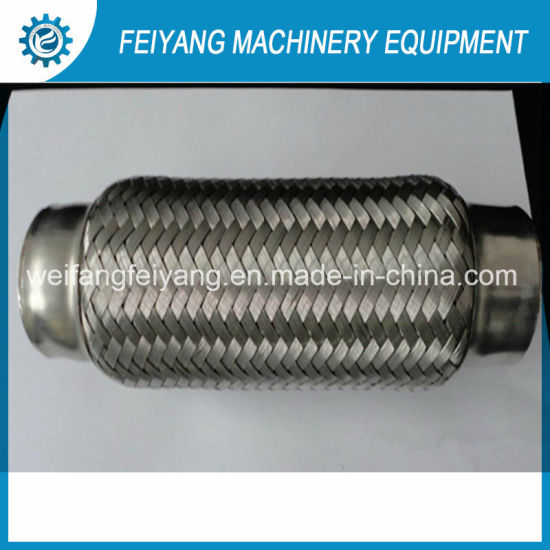 Customized Stainless Steel Flexible Pipe with Inner Braid ID 89mm