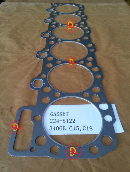 Caterpillar Engine Parts Head Gasket of 3406e  C15  C18 (224-5122)
