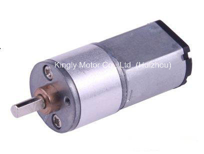DC Geared Motor Permanent Magnet 16mm Mini Gearbox DC Motor pictures & photos