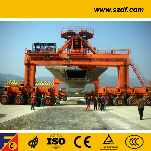 Heavy Lifting Rtg Gantry Crane for Express Railway Construction pictures & photos