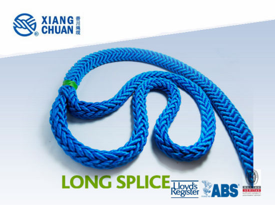 BV Approved 12 Strand UHMWPE Mooring Rope (XCMAX) pictures & photos