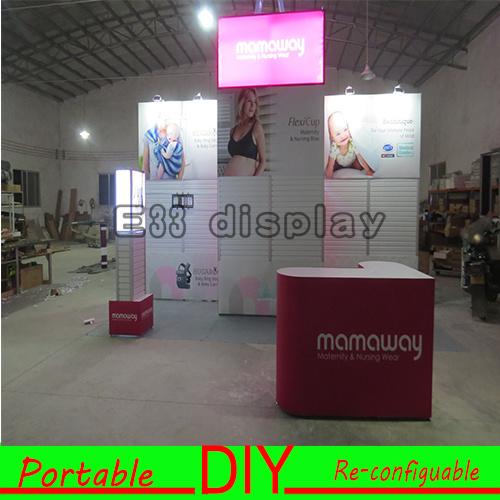 China DIY Portable Re-Usable&Versatile Customized Exhibition Booth