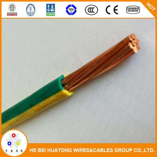 china 450 750v electrical wire single core copper conductor pvc rh huatongcables en made in china com