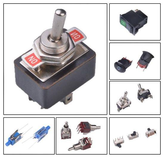 China Automotive Switch Lighted Toggle Switch Aircraft