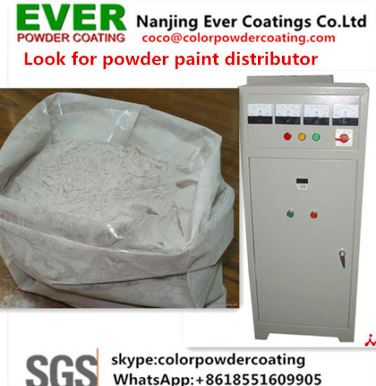 Electrostatic Painting Gun Ral7032 Grey Color Textured Powder Coating Paints pictures & photos