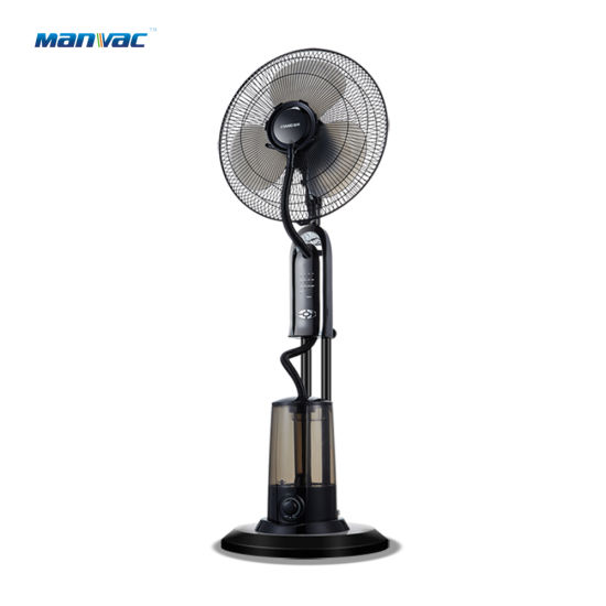 Electric Home Pedestal Fan Stand Mist Cooling Fan with Ce