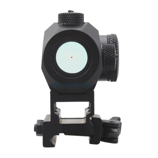 Vector Optics Harpy Ultra Compact 3moa Ar15 Red DOT Sight Riflescopes with 20000 Hours Run-Time Qd Riser Picatinny Mount pictures & photos