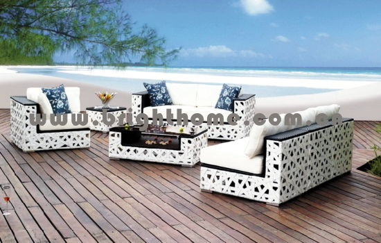 Magnificent China Outdoor Furniture High Back Rattan Sofa Set China Caraccident5 Cool Chair Designs And Ideas Caraccident5Info