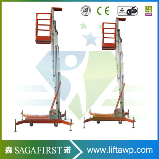 6m Light Weight Factory Maintenance Platform Aerial Lifting Equipment pictures & photos