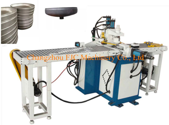 Min Production Line Automic Solar Water Heater Seal Head Necking Hydraulic Machine pictures & photos