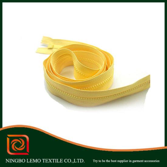 3# Plastic Zipper Resin Zipper for Handbage