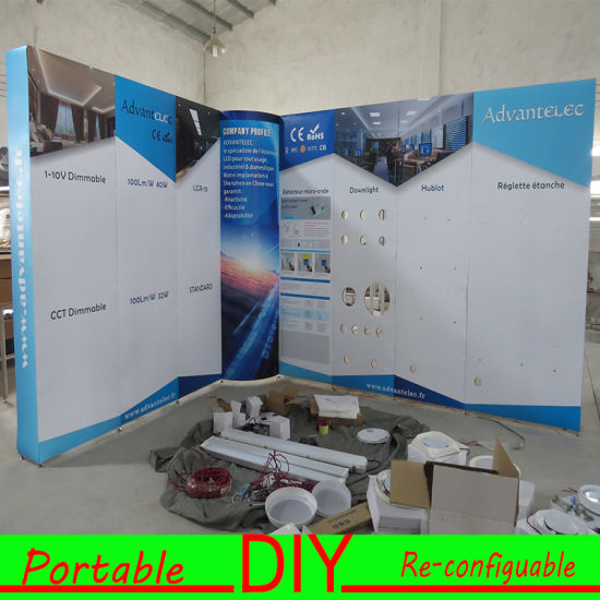Modular Exhibition Stands Zero : China exhibition stand reusable trade show booth display china