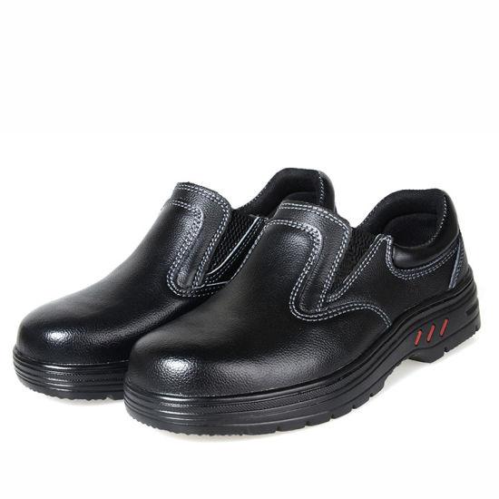 China No Lace Anti Smash Safety Shoes