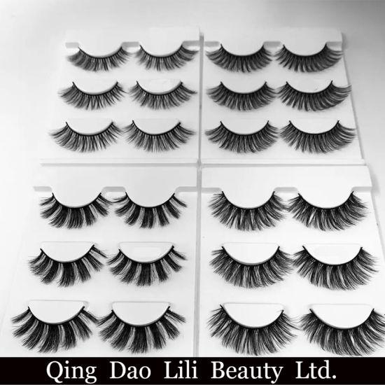 4f92f6938eb ... Lashes Thick Fake Faux Eyelashes Makeup Beauty. Free Shipping 3PCS/Lot  100% Handmade Real Mink Fur False Eyelash 3D Strip Mink