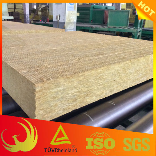 Fireproof Rock-Wool Board for Exterior Wall Heat Insulation pictures & photos