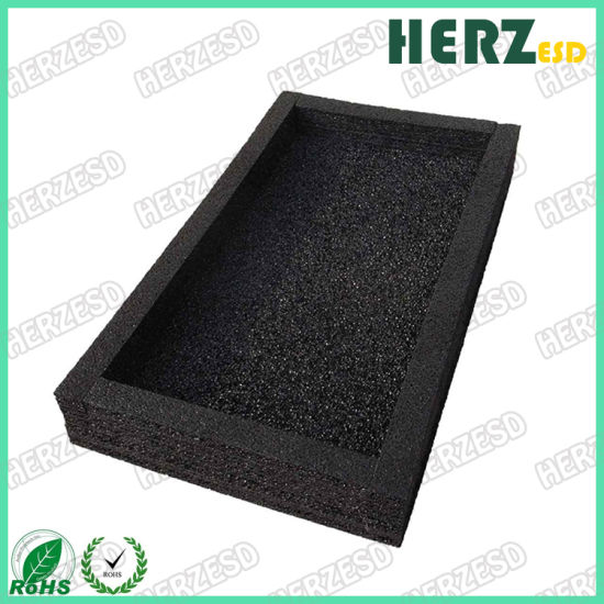 Conductive IXPE Static Dissipative Polyethylene Foam Tray pictures & photos
