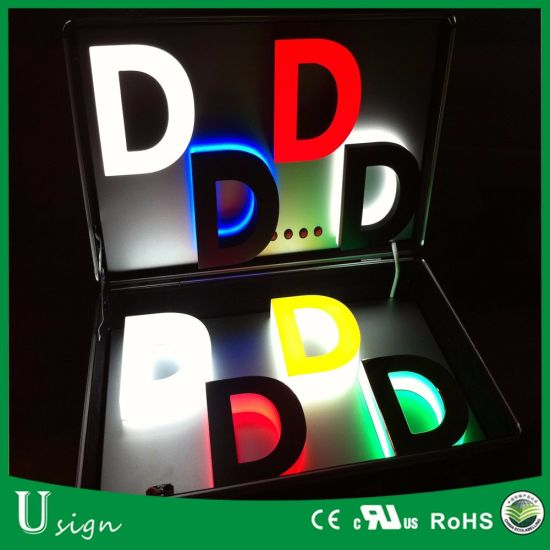 IP67 Rated 3D Advertising LED Letter Sign