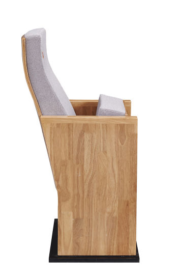New Design Wood Veneer Auditorium Chair pictures & photos