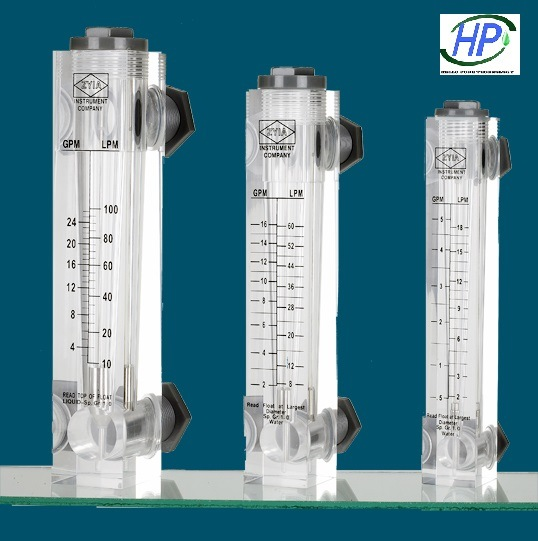 RO Water Treatment System Panel Type Flow Meter