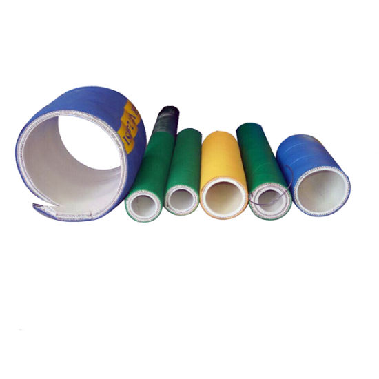 FDA Textile Reinforced Rubber Pipe Food Degree Suction Hose for Potable Water pictures & photos