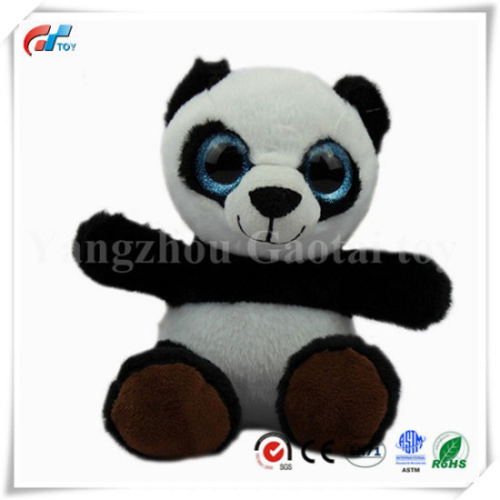 Hotsale Model China Big Eyes Toy Panda Bear for Baby Girls