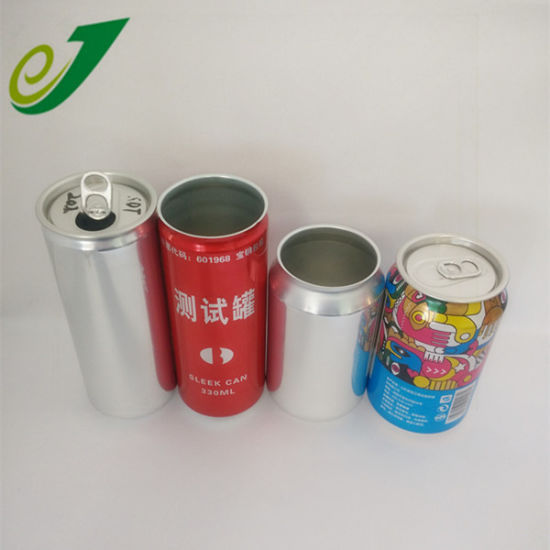 16 Oz Custom Accept Beverage Cans with Ends