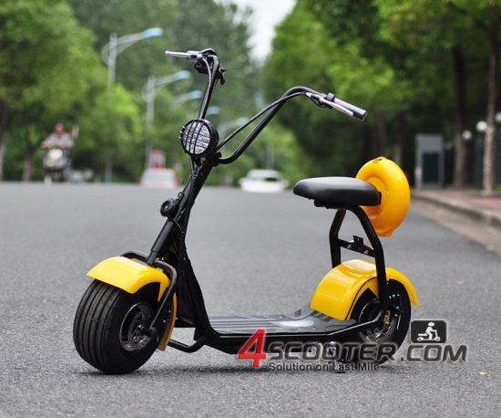 Factory Direct Selling Car Wheels Citycoco 1000W 72V Electric Scooter Motorcycle pictures & photos