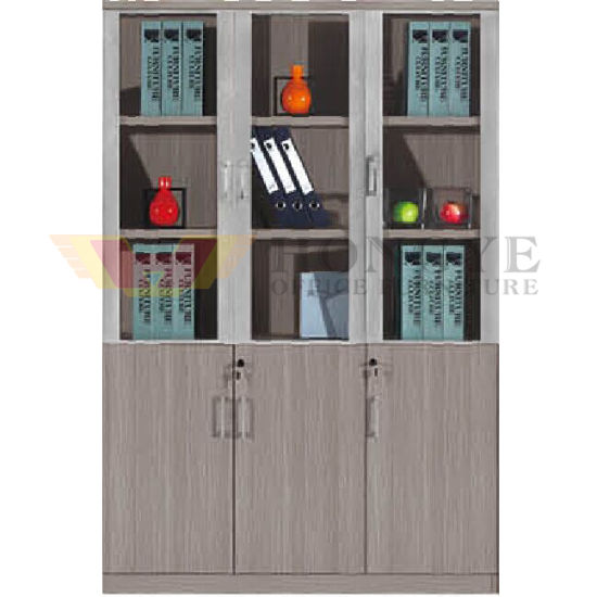 3 Gl Doors Modern Office Cabinet Design Hy Nnh W213