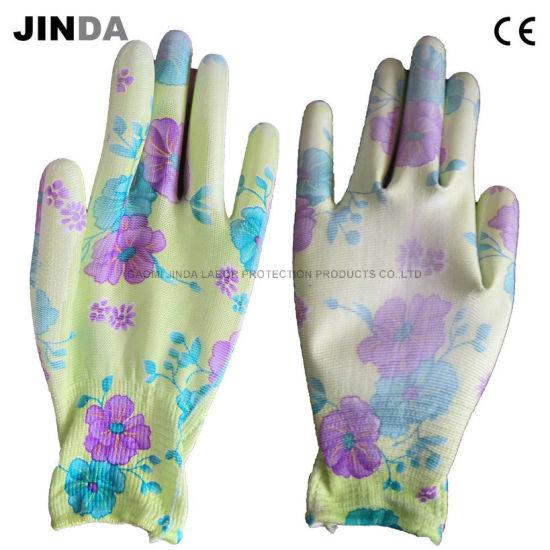 PU Coated Garden Work & Labor Gloves