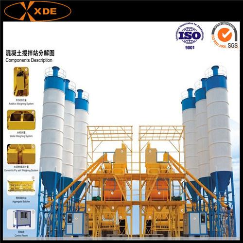 Hzs90 Concrete Mixing Machine for Construction