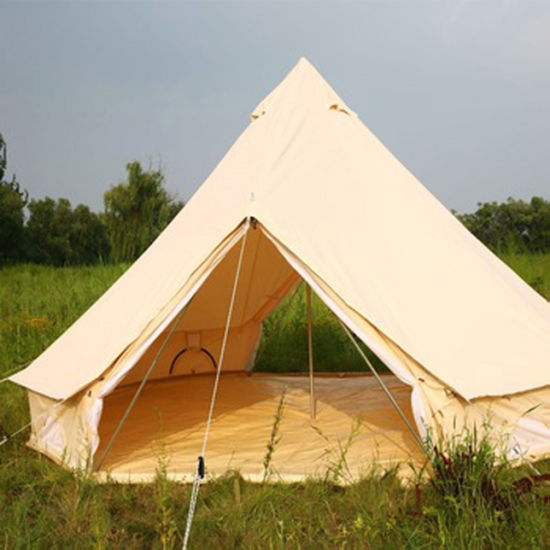 China Family Outdoor Camping Waterproof Bell Tent Dia 3m
