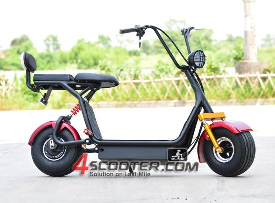 New 2016 Electric Bike 800W City Coco Electric Scooter with Fat Tire Electric Scooter pictures & photos