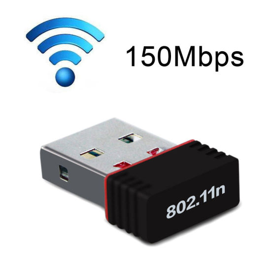150Mbps Rt5370 Nano WiFi USB Adapter Stick Wireless Networking Card pictures & photos