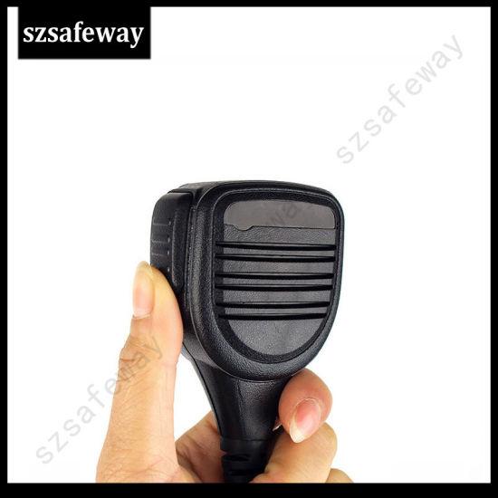 For Motorola Radio Hand Mic Speaker P040//P080//P110//P1225LS BPR40 PR400 EP450 GTI