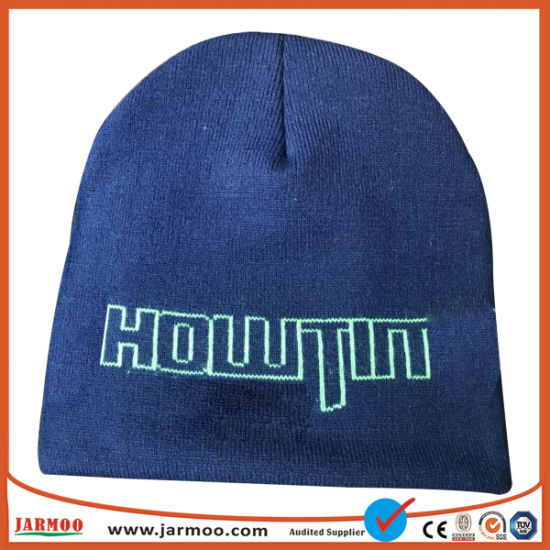 Customized Winter Acrylic Beanie Knitted Hat pictures & photos