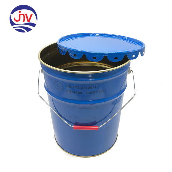 china antirust metal pail barrel tin can for adhesive water paint