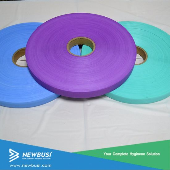 Easy Tape Reseal Tape Raw Material for Sanitary Towel pictures & photos