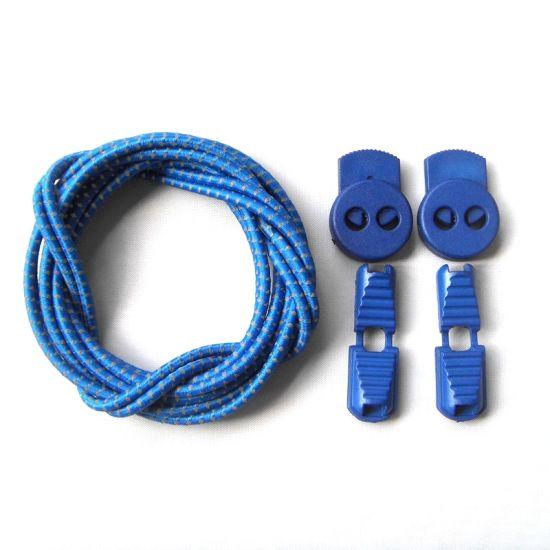 Factory Wholesale Elastic Free Tie Shoelaces/Lock Shoe Laces/Casual Shoe