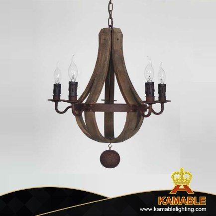 New Decorative Iron Hanging Pendant Lamp (GD1145S-5)