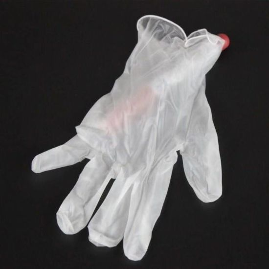 Food Grade Protective Disposable PVC Gloves Waterproof Gloves Wholesale pictures & photos