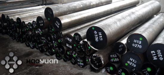 Hot Work Steel H13 1.2344 SKD61 4Cr5MoSiV1 Flat Round Bar