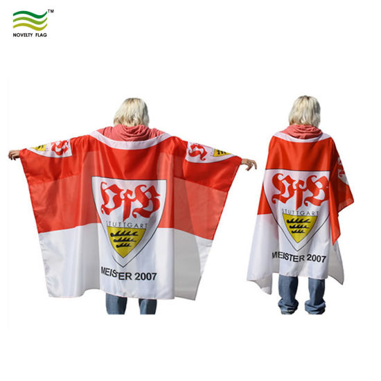 90X150cm Polyester Fans Sport Cape Flag Body Flag pictures & photos