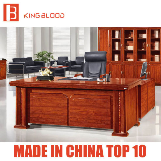 Bon Professional Fancy Wooden Executive Office Desk Furniture